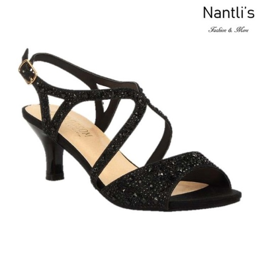 BL-Berk-64 Black Zapatos de Mujer Mayoreo Wholesale Women Heels Shoes Nantlis