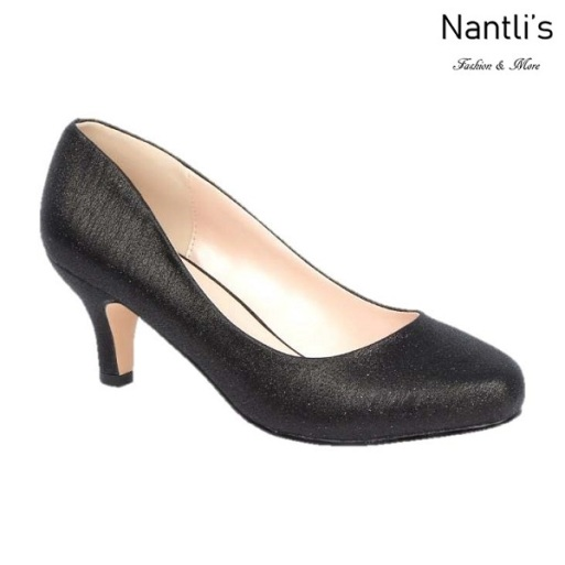 BL-Bertha-2 Black Zapatos de Mujer Mayoreo Wholesale Women Heels Shoes Nantlis