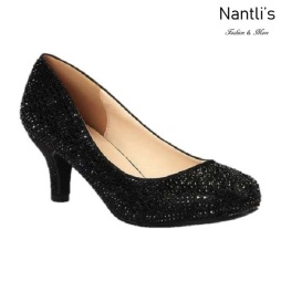 BL-Bertha-22 Black Zapatos de Mujer Mayoreo Wholesale Women Heels Shoes Nantlis