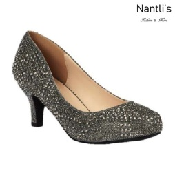 BL-Bertha-22 Pewter Zapatos de Mujer Mayoreo Wholesale Women Heels Shoes Nantlis