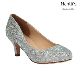 BL-Bertha-22 Silver Zapatos de Mujer Mayoreo Wholesale Women Heels Shoes Nantlis