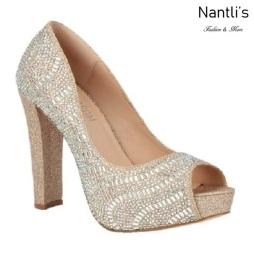 BL-Carina-111C Champagne Zapatos de Mujer Mayoreo Wholesale Women Heels Bridal Shoes Nantlis