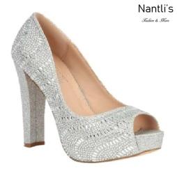 BL-Carina-111C Silver Zapatos de Mujer Mayoreo Wholesale Women Heels Bridal Shoes Nantlis