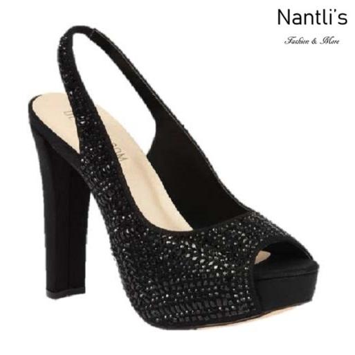 BL-Carina-116C Black Zapatos de Mujer Mayoreo Wholesale Women Heels Shoes Nantlis