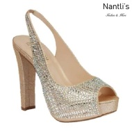 BL-Carina-116C Champagne Zapatos de Mujer Mayoreo Wholesale Women Heels Bridal Shoes Nantlis