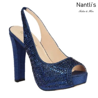 BL-Carina-116C Navy Zapatos de Mujer Mayoreo Wholesale Women Heels Shoes Nantlis