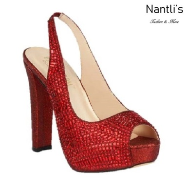 BL-Carina-116C Red Zapatos de Mujer Mayoreo Wholesale Women Heels Shoes Nantlis