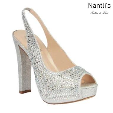 BL-Carina-116C Silver Zapatos de Mujer Mayoreo Wholesale Women Heels Bridal Shoes Nantlis