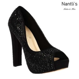 BL-Carina-121C Black Zapatos de Mujer Mayoreo Wholesale Women Heels Shoes Nantlis