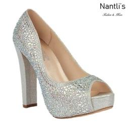 BL-Carina-121C Silver Zapatos de Mujer Mayoreo Wholesale Women Heels Bridal Shoes Nantlis