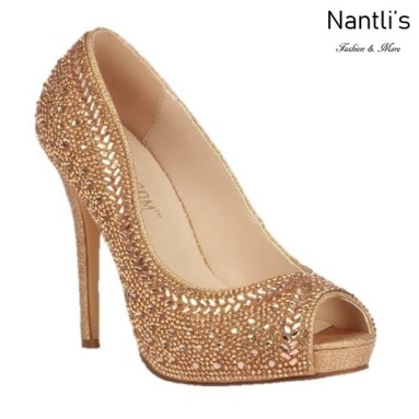 BL-Eternity-130 Rose gold Zapatos de Mujer Mayoreo Wholesale Women Heels Bridal Shoes Nantlis