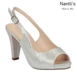 BL-Fay-1 Silver Zapatos de Mujer Mayoreo Wholesale Women Heels Bridal Shoes Nantlis
