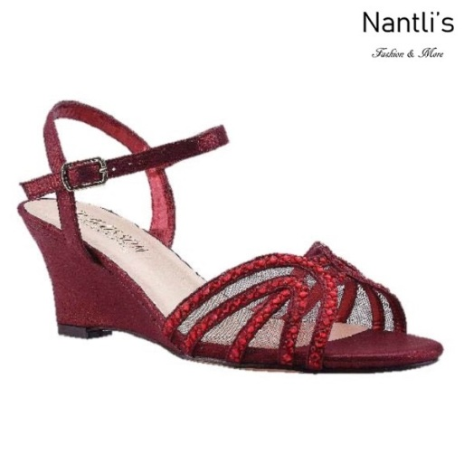 BL-Field-18 Red Zapatos de Mujer Mayoreo Wholesale Women Wedges Shoes Nantlis