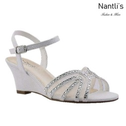 BL-Field-18 Silver Zapatos de Mujer Mayoreo Wholesale Women Wedges Shoes Nantlis