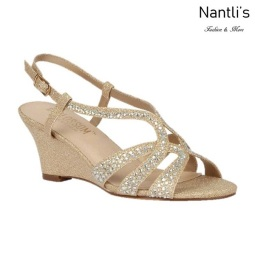 BL-Field-30 Nude Zapatos de Mujer Mayoreo Wholesale Women Wedges Shoes Nantlis