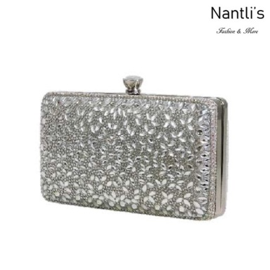 BL-HB-Reese-3 Silver Cartera de Mujer Mayoreo Wholesale Womens Hand Bag Nantlis