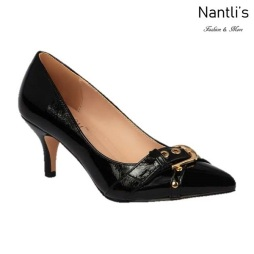 BL-Hurley-14 Black Zapatos de Mujer Mayoreo Wholesale Women Heels Shoes Nantlis