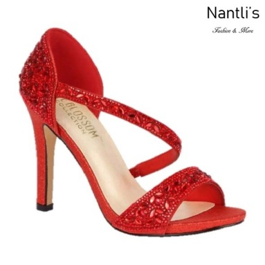 BL-Jenny-9 Red Zapatos de Mujer Mayoreo Wholesale Women Heels Shoes Nantlis