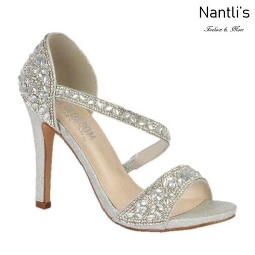 BL-Jenny-9 Silver Zapatos de Mujer Mayoreo Wholesale Women Heels Bridal Shoes Nantlis