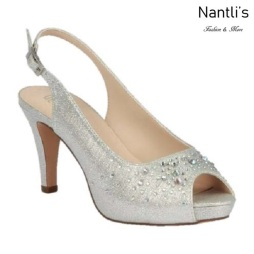 BL-Kenny-21 Silver Zapatos de Mujer Mayoreo Wholesale Women Heels Shoes Nantlis