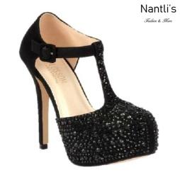 BL-Kinko-4 Black Zapatos de Mujer Mayoreo Wholesale Women Heels Bridal Shoes Nantlis