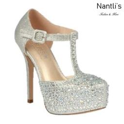 BL-Kinko-201 Silver Zapatos de Mujer Mayoreo Wholesale Women Heels Bridal Shoes Nantlis