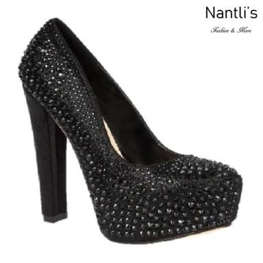 BL-Kinko-202C Black Zapatos de Mujer Mayoreo Wholesale Women Heels Shoes Nantlis