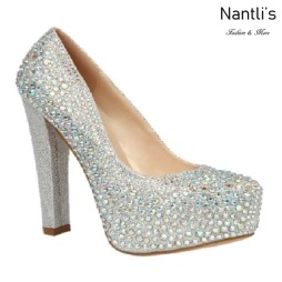 BL-Kinko-202C Silver Zapatos de Mujer Mayoreo Wholesale Women Heels Bridal Shoes Nantlis