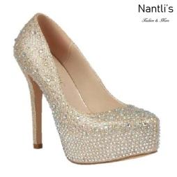 BL-Kinko-4 Champagne Zapatos de Mujer Mayoreo Wholesale Women Heels Bridal Shoes Nantlis