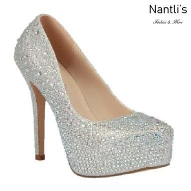 BL-Kinko-4 Silver Zapatos de Mujer Mayoreo Wholesale Women Heels Bridal Shoes Nantlis