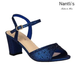 BL-Lennie-22 Navy Zapatos de Mujer Mayoreo Wholesale Women Heels Shoes Nantlis