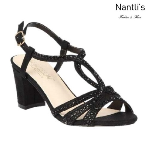 BL-Lennie-23 Black Zapatos de Mujer Mayoreo Wholesale Women Heels Shoes Nantlis