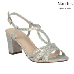 BL-Lennie-23 Silver Zapatos de Mujer Mayoreo Wholesale Women Heels Shoes Nantlis