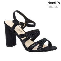 BL-Lilia-5 Black Zapatos de Mujer Mayoreo Wholesale Women Heels Shoes Nantlis