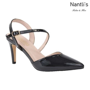 BL-Lisa-11 Black Zapatos de Mujer Mayoreo Wholesale Women Heels Shoes Nantlis