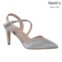 BL-Lisa-11 Silver Zapatos de Mujer Mayoreo Wholesale Women Heels Shoes Nantlis