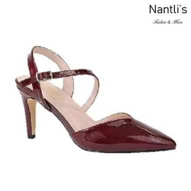 BL-Lisa-11 Wine Zapatos de Mujer Mayoreo Wholesale Women Heels Shoes Nantlis