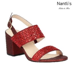 BL-Luiza-1 Red Zapatos de Mujer Mayoreo Wholesale Women Heels Shoes Nantlis