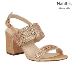 BL-Luiza-1 Rose Gold Zapatos de Mujer Mayoreo Wholesale Women Heels Bridal Shoes Nantlis