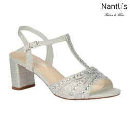 BL-Martina-12 Silver Zapatos de Mujer Mayoreo Wholesale Women Heels Shoes Nantlis