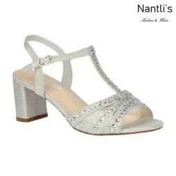 BL-Martina-12 Silver Zapatos de Mujer Mayoreo Wholesale Women Heels Shoes Nantlis