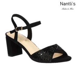 BL-Martina-13 Black Zapatos de Mujer Mayoreo Wholesale Women Heels Shoes Nantlis