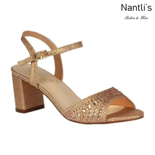BL-Martina-13 Rose Gold Zapatos de Mujer Mayoreo Wholesale Women Heels Shoes Nantlis