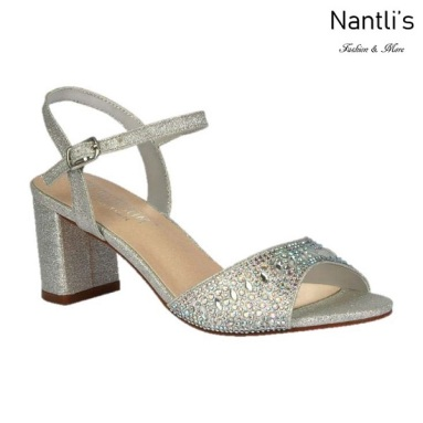 BL-Martina-13 Silver Zapatos de Mujer Mayoreo Wholesale Women Heels Shoes Nantlis