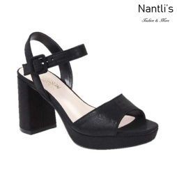 BL-Mila-2 Black Zapatos de Mujer Mayoreo Wholesale Women Heels Shoes Nantlis