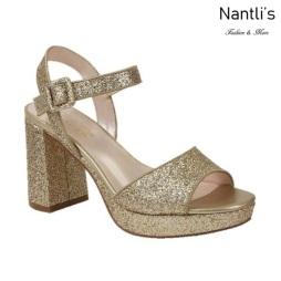 BL-Mila-2 Gold Zapatos de Mujer Mayoreo Wholesale Women Heels Shoes Nantlis