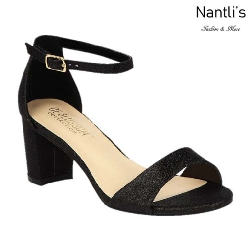 BL-Olie-18 Black Zapatos de Mujer Mayoreo Wholesale Women Heels Shoes Nantlis