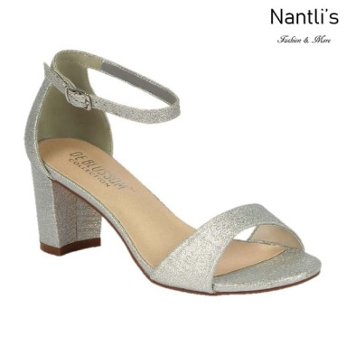 BL-Olie-18 Silver Zapatos de Mujer Mayoreo Wholesale Women Heels Shoes Nantlis