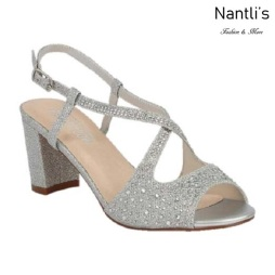 BL-Olie-8 Silver Zapatos de Mujer Mayoreo Wholesale Women Heels Shoes Nantlis