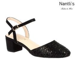 BL-Olivia-26 Black Zapatos de Mujer Mayoreo Wholesale Women Heels Shoes Nantlis